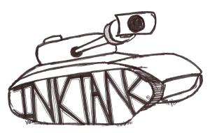 INKTANK logo designed by M. BAENA